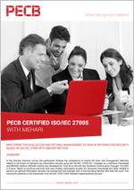 Certified ISO/IEC 27005 with Mehari