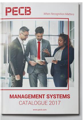 PECB Management Systems Catalogue 2017 PDF