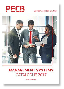 PECB Management Systems Catalogue 2017