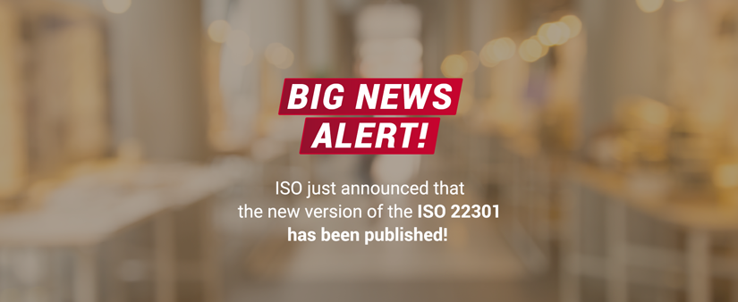 ISO 22301:2019 just published!