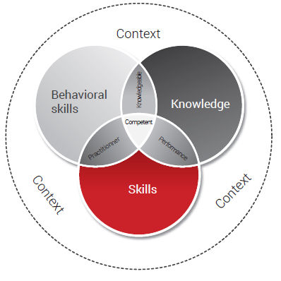 Behavioral skills, Knowledge, Skills used in ISO 9001 clauses