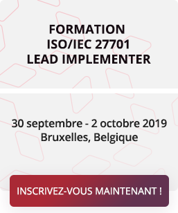 Formation ISO/IEC 27701 Lead Implementer