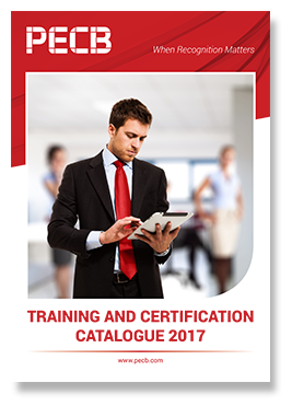 PECB Training and Certification Catalogue 2017