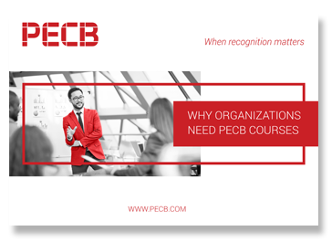Why organizations need PECB courses