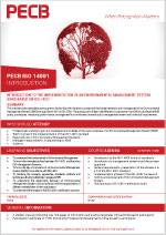 PECB Certified ISO 14001 Introduction