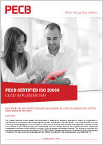 ISO/IEC 20000 Lead Implementer