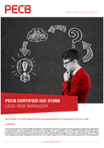 ISO 31000 Lead Manager Brochure