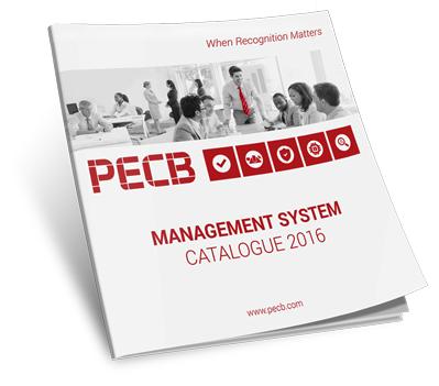 PECB Management System Catalogue