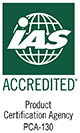 ISO/IEC 17065 Accreditation from IAS
