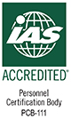 ISO/IEC 17024 Accreditation from IAS